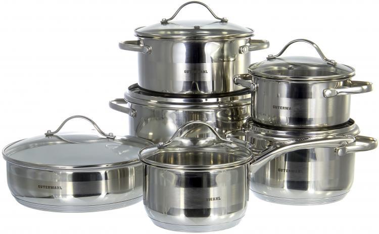 Кастрюли, ковши и наборы посуды