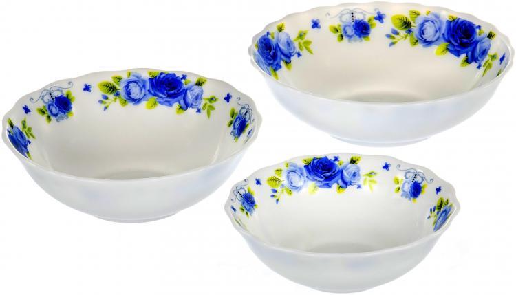 Тарелки, салатники из стеклокерамики